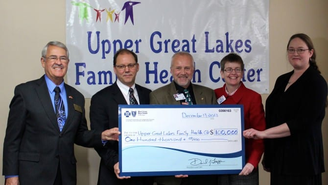Houghton County clinics receive $100,000 Safety Net grant from BCBSM