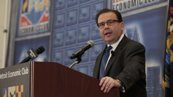 See highlights from Blues CEO Dan Loepp's speech on health care reform at Detroit Economic Club