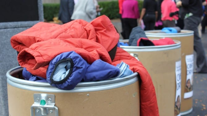 One Day, 1,000 Coats: Blues Bundle Up Michigan Drive Nov. 5