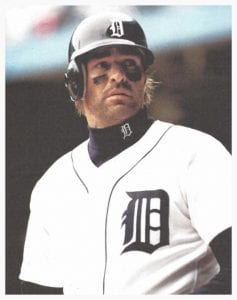 Image of Kirk Gibson in his Tigers uniform.
